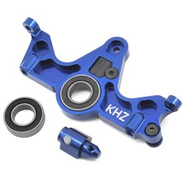 King Headz TRX6860T-B  Slash 4x4 Blue Aluminum Motor Mount w/Bearing