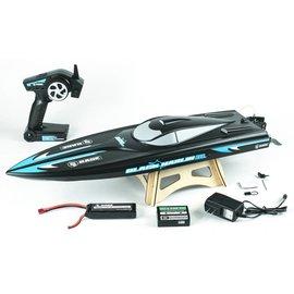 Rage R/C Black Marlin Brushless RTR Boat