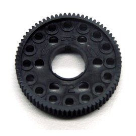 CRC 64 Pitch Spur Gear, 72 Tooth 16x 3/32 or 2.5mm Ball