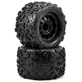 "Proline Racing PRO1198-13 Big Joe II 3.8"" Mounted Tire 17mm"