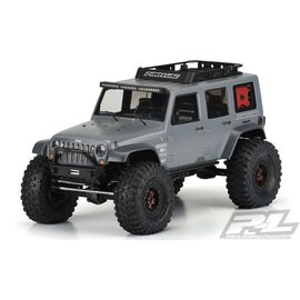 """Jeep Wrangler Unlimited Rubicon Clear Body, 12.3"""""""