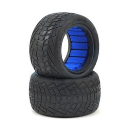 """Proline Racing Inversion 2.2"""" MC (Clay) Buggy Rear Tires (2) W/ Closed Cell Inserts"""