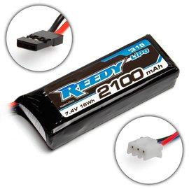 Reedy Reedy 2100mAh 7.4V RX/TX Lipo Battery