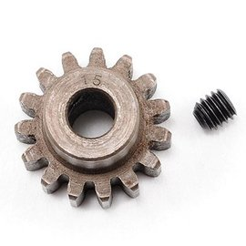 Robinson Racing 15T Pinion Gear X-Hard Steel Mod1 w/5mm Bore