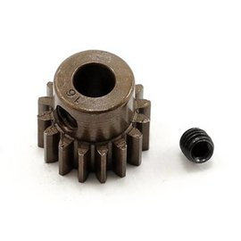 Robinson Racing 16T Pinion Gear X-Hard Steel .8 Mod w/5mm Bore