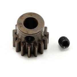 Robinson Racing 15T Pinion Gear X-Hard Steel .8 Mod w/5mm Bore