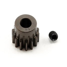 Robinson Racing 14T Pinion Gear X-Hard Steel .8 Mod w/5mm Bore