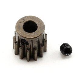 Robinson Racing 13T Pinion Gear X-Hard Steel .8 Mod w/5mm Bore