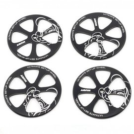 Hudy Aluminum Set-up Wheel For 1/10 Touring Car