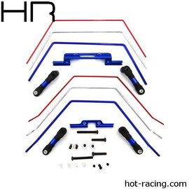 HOT RACING Front & Rear Wide Sway Bar for Traxxas Slash 2WD