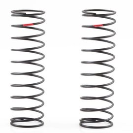 Kyosho Big Bore Shock Spring Rear Red Medium Hard (2)