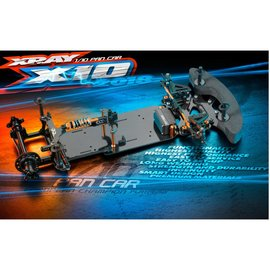 Xray XRA370504 X10 2018 Specs 1:10 Pan Car