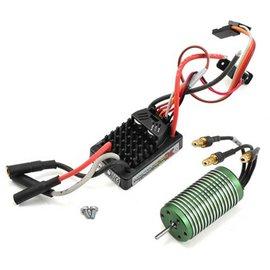 Castle Creations Mamba Micro X 12.6V ESC, 2A Peak BEC W/0808-4100Kv Brushless Motor