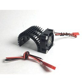 APS Racing Black APS Motor Heatsink Ver.2 w/Super Cooling Side Fan for 540 Motor