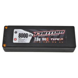 Fantom Racing FAN25239 HV PRO Racing 8000mAh LiPo 100C, 7.6v, 2S 4mm Bullets