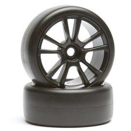 Team Associated Apex Super Drift Wheel/Tire Combo- Black