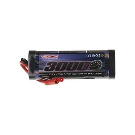 Venom Racing 7.2V 3000mAh 6 Cell NiMH Battery with HXT 4.0mm Plug