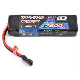 Traxxas 7600mAh 7.4V 2-Cell 25C Lipo ID