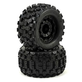 "Proline Racing Badlands MX28 2.8"" All Terrain Tires Mounted"