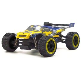 Carisma CIS58168YELLOW GT24TR 1/24 Scale Micro 4WD Truggy, RTR