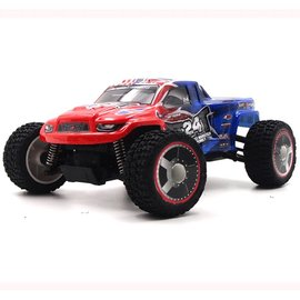 Carisma CIS58368BLUE GT24MT 1/24 Scale Micro 4WD Monster Truck, RTR