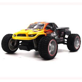 Carisma Black GT24MT 1/24 Scale Micro 4WD Monster Truck, RTR