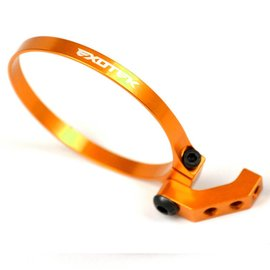 Exotek Racing EXO1718ORG Orange Angled Clamp On Fan Mount