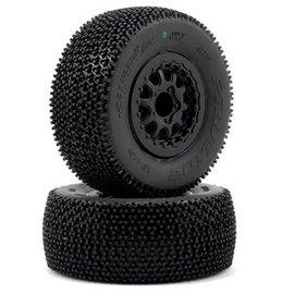 "Proline Racing Caliber 2.0 SC 2.2/3.0"" M3 (Soft) Tires Mounted (2)"