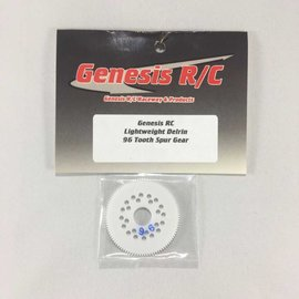 Genesis R/C Light Weight Delrin 96Tooth Spur Gear 3/32 Diff Balls