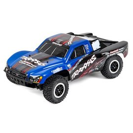Traxxas Blue Slash 4WD 1/10 S.C Truck RTR