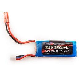Carisma CIS15432 GT24B 2S LiPo Battery, 7.4V 350mAh