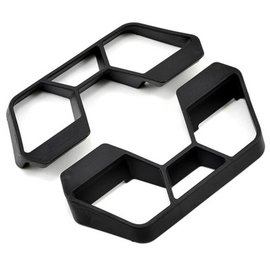 RPM R/C Products RPM70652 Black Nerf Bars for the Traxxas 1/10th scale Rally & LCG Slash 4x4