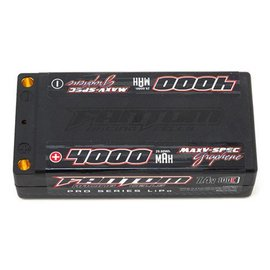 Fantom Racing FAN26053  MaxV-SPEC Graphene 4000mAh LiPo 100C Shorty, 7.4v, 5mm Bullets
