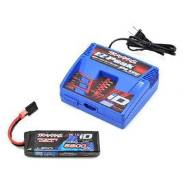 Traxxas TRA2992 Battery & Charger Completer Pack, Includes 2970 iD Charger and 2843X 5800mAh 7.4V 2-cell LiPo