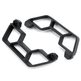RPM R/C Products Black LCG Slash 2WD Nerf Bar Set