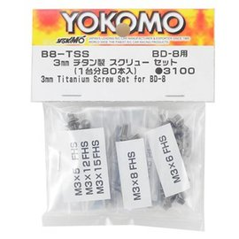 Yokomo BD8 Titanium Screw Set