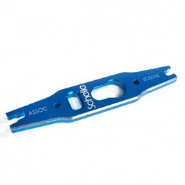 Schelle Racing Blue Associated 12mm Shock and Turnbuckle Tool