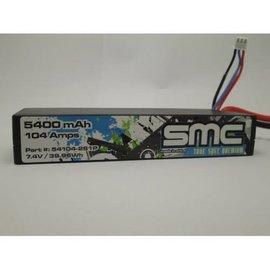 SMC SMC54104-2S1PT  True Spec Premium 7.4V 5400mAh 104Amps/50C wired Lipo w/Traxxas Plug