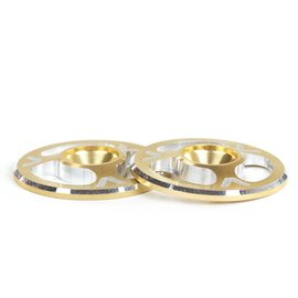 Avid RC Triad Wing Buttons Gold M3 (2)