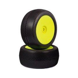 AKA Racing 1/8 Truggy EVO Gridiron Soft PreMount on Yellow Wheel (2)