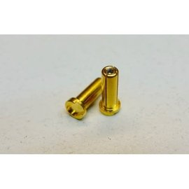 SMC 5mm gold plated pure copper adjustable connectors
