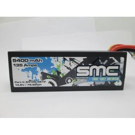 SMC SMC54135-4S1PD  True Spec Premium 14.8V 5400mAh 135Amps/90C with Deans Plug