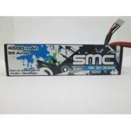 SMC True Spec Premium 14.8V 4500mAh 85 Amps/90C Lipo w/Deans Plug