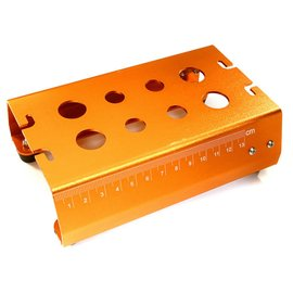 Integy Orange Universal Car Stand Workstation For 1/10 Size