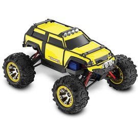 Traxxas Yellow 1/16 Summit VXL, Brushless RTR w/ TQ 2.4 GHz, TSM, iD Battery and Charger