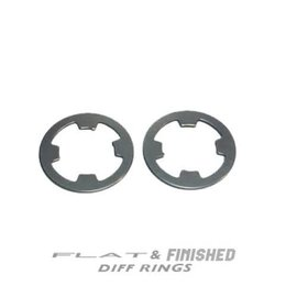RocheRC USA TKO-DR-L12 - TKO Flat & Finished Lightened Differential Ring Set