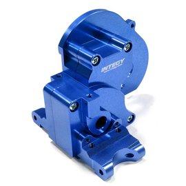 Integy Blue Alloy Gear Box For Traxxas 1/10 Stampede 2WD, Rustler & Bandit XL5