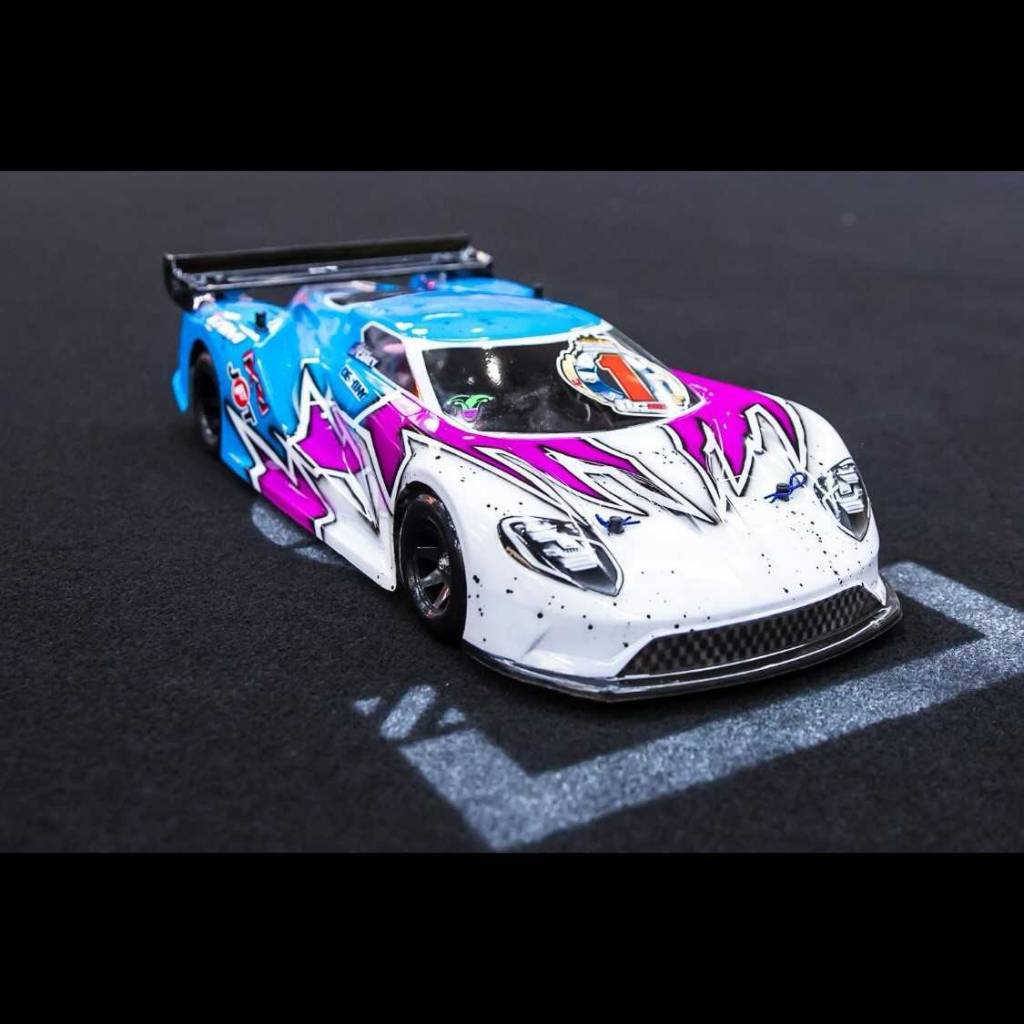 Protoform Prm  Ford Gt Clear Body For Mm Pan Car