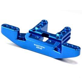 Exotek Racing Blue Anodized Front Camber Mount Aluminum 7075 B6/B6D