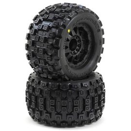 "Proline Racing PRO10127-13 Badlands MX38 3.8"" Mounted Tires"